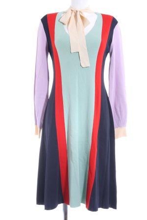 Max & Co. Robe à manches longues motif rayé style décontracté