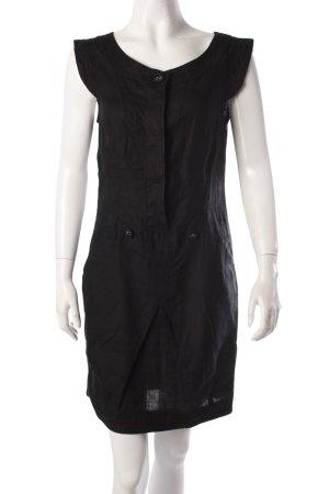 Max & Co. Leinenkleid schwarz