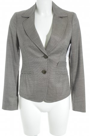 Max & Co. Long-Blazer graubraun-schwarz meliert Business-Look