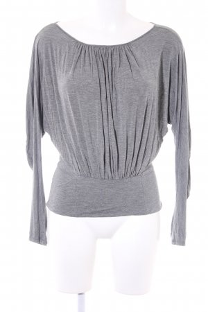 Max & Co. Longsleeve grau meliert Casual-Look