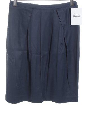 Max & Co. Minigonna blu scuro stile professionale