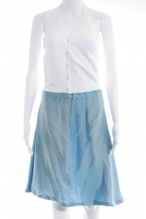 Max & Co. Neckholderkleid babyblau-weiß Farbverlauf extravaganter Stil