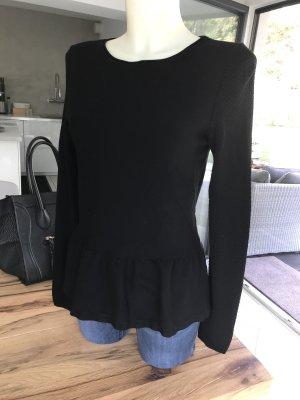 Max & Co Pullover schwarz knitterfrei Stretch 38