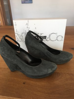 Max &Co Rauleder Wedges Gr.:38
