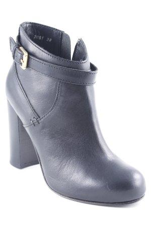 Max & Co. Reißverschluss-Stiefeletten schwarz Paris-Look