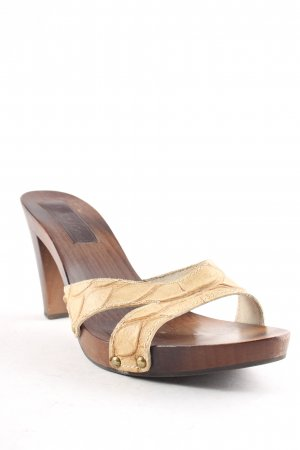 Max & Co. Strapped High-Heeled Sandals brown-sand brown casual look