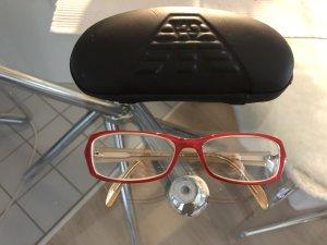 Max & Co. Gafas rojo neón-camel Material sintético