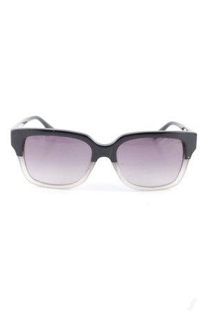 Max & Co. runde Sonnenbrille schwarz-hellgrau Casual-Look