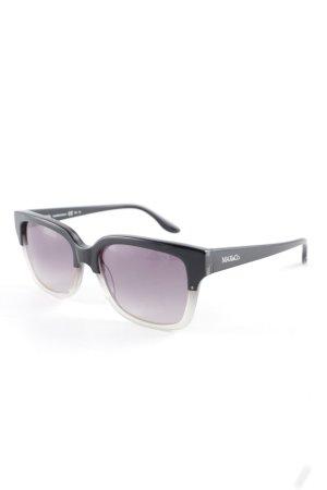 Max & Co. Ronde zonnebril zwart-lichtgrijs casual uitstraling