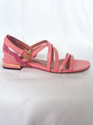 Max & Co. Sandalo con cinturino multicolore Pelle