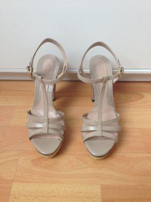 Max & Co. Platform High-Heeled Sandal nude-beige