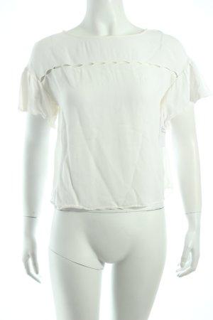 Max & Co. Schlupf-Bluse weiß Nude-Look