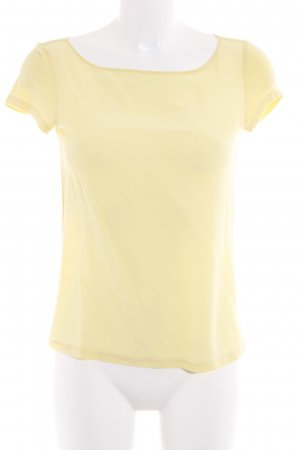 Max & Co. Tie-neck Blouse pale yellow business style