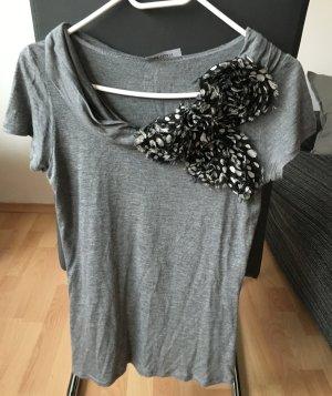 Max&Co Shirt Grau Schleife