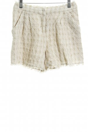 Max & Co. Short room-beige geruite print casual uitstraling