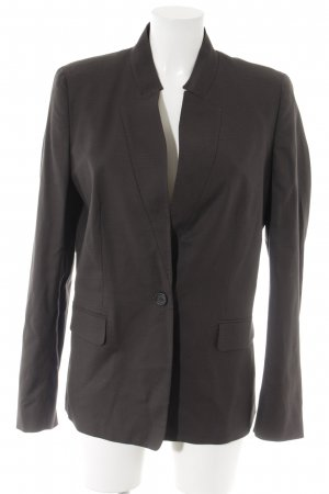 Max & Co. Smoking-Blazer schwarzbraun Karomuster Business-Look