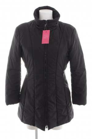 Max & Co. Quilted Jacket black quilting pattern casual look