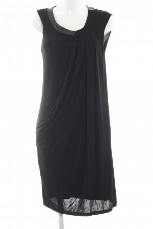 Max & Co. Stretch Dress black allover print elegant