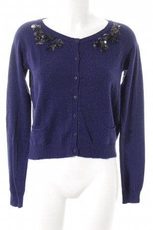Max & Co. Strick Cardigan blau Elegant