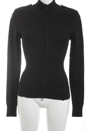 Max & Co. Strickjacke schwarz schlichter Stil