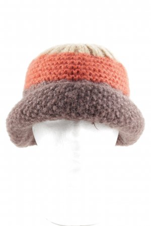 Max & Co. Knitted Hat striped pattern casual look