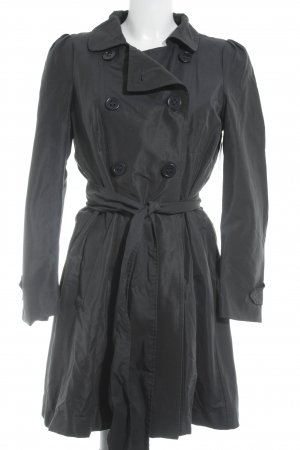 Max & Co. Trenchcoat dunkelblau Brit-Look