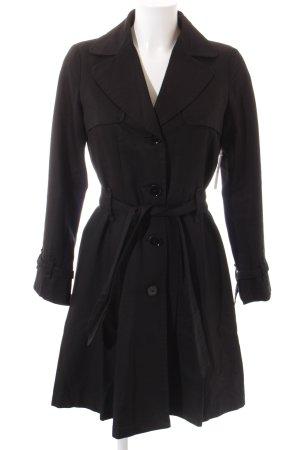 Max & Co. Trenchcoat schwarz klassischer Stil