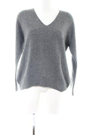 Max & Co. Jersey con cuello de pico gris claro look casual