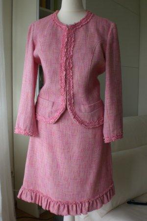 Max Mara Traje para mujer rosa tejido mezclado