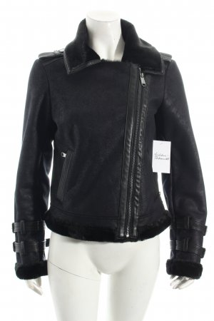 Max & Co. Winterjacke schwarz Casual-Look