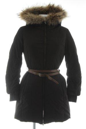 Max & Co. Winterjacke schwarz klassischer Stil