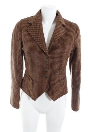 Max & Co. Woll-Blazer Pepitamuster klassischer Stil