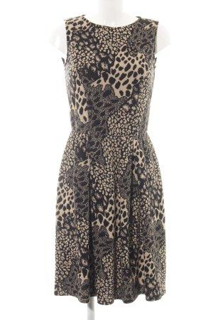 Max & Co. Vestido de lana estampado de leopardo look casual