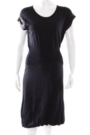 Max & Co. Wollkleid schwarz schlichter Stil