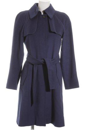 Max & Co. Wollmantel dunkelblau klassischer Stil