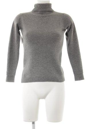 Max & Co. Maglione di lana grigio-grigio chiaro puntinato