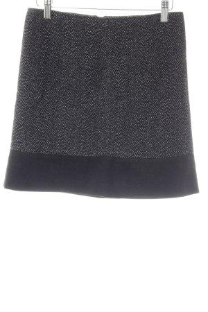 Max & Co. Wollen rok zwart-wolwit visgraatmotief casual uitstraling