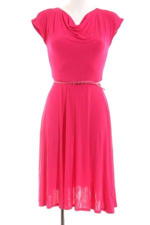 Max Mara A-Linien Kleid rot Casual-Look