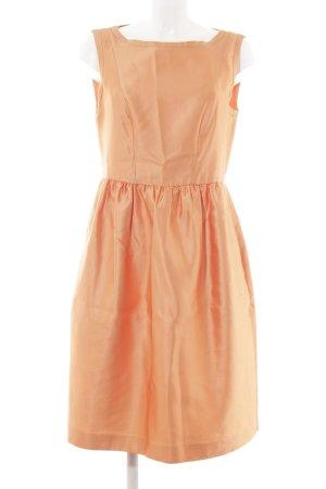 Max Mara A-Linien Kleid apricot Elegant