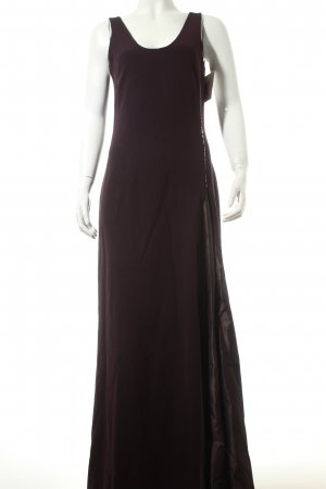 Max Mara Abendkleid dunkelviolett Eleganz-Look