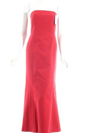 Max Mara Abendkleid rot klassischer Stil