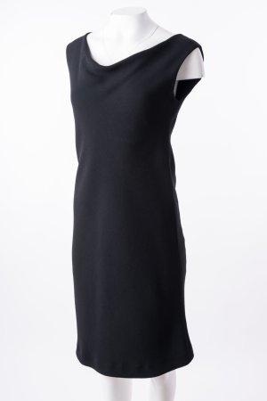 MAX MARA - Ärmelloses Kleid mit U-Boot-Ausschnitt Schwarz