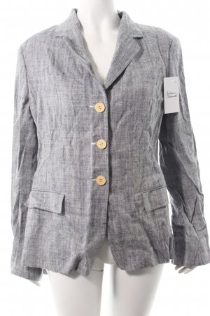 Max Mara Blazer hellgrau Business-Look