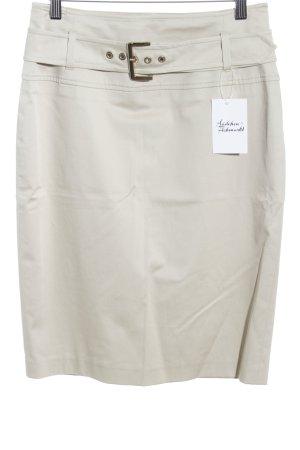 Max Mara Bleistiftrock beige Casual-Look