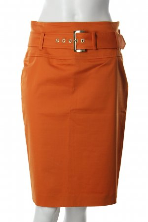 Max Mara Bleistiftrock orange Business-Look
