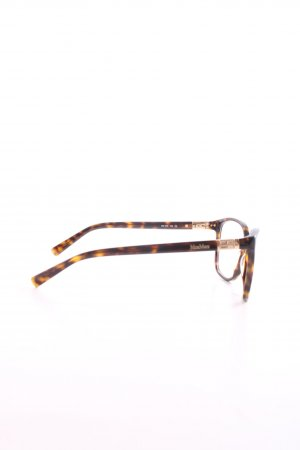 Max Mara Glasses bronze-colored animal pattern business style
