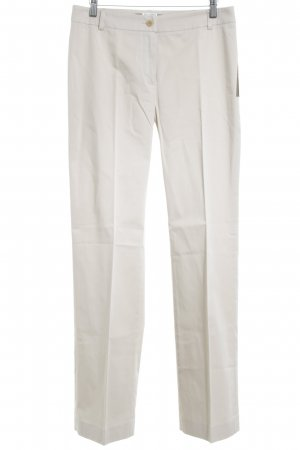 Max Mara Bundfaltenhose beige Casual-Look