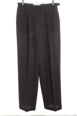 Max Mara Pantalone a pieghe marrone stile casual