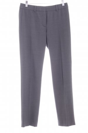 Max Mara Bundfaltenhose dunkelgrau Business-Look