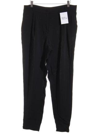 Max Mara Pantalone a pieghe nero elegante